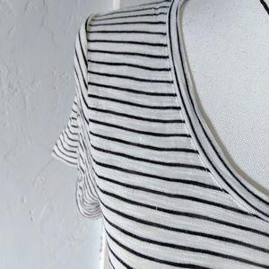 Madewell Tops - Madewell  Women's Small Striped T-shirt Minimalist